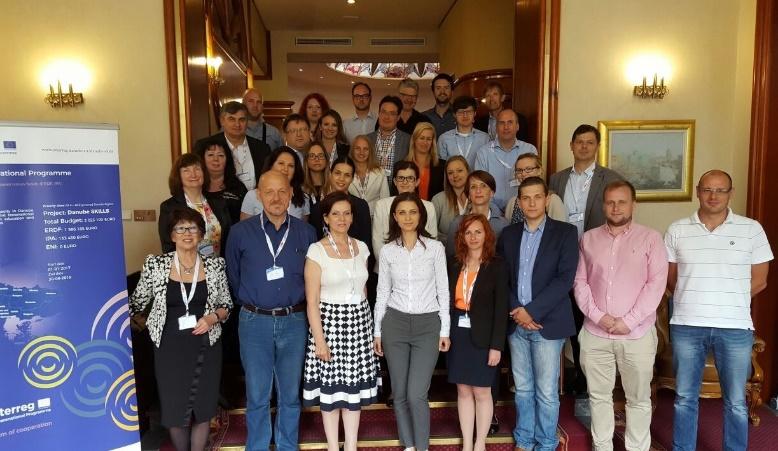 DANUBE SKILLS Projekttreffen in Zagreb