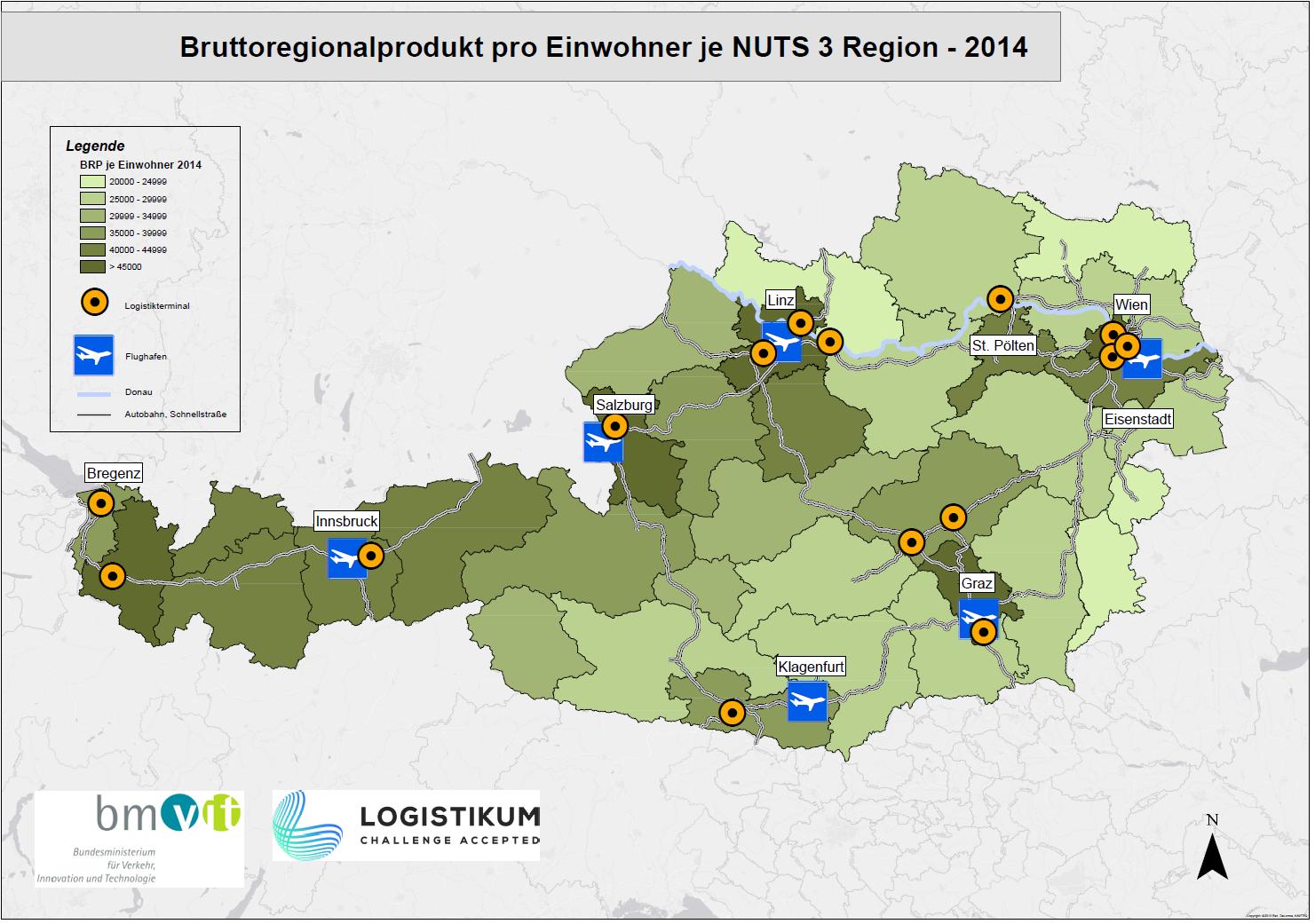 Umfrage zur Entwicklung einer logistischen Kompetenzlandkarte Österreichs