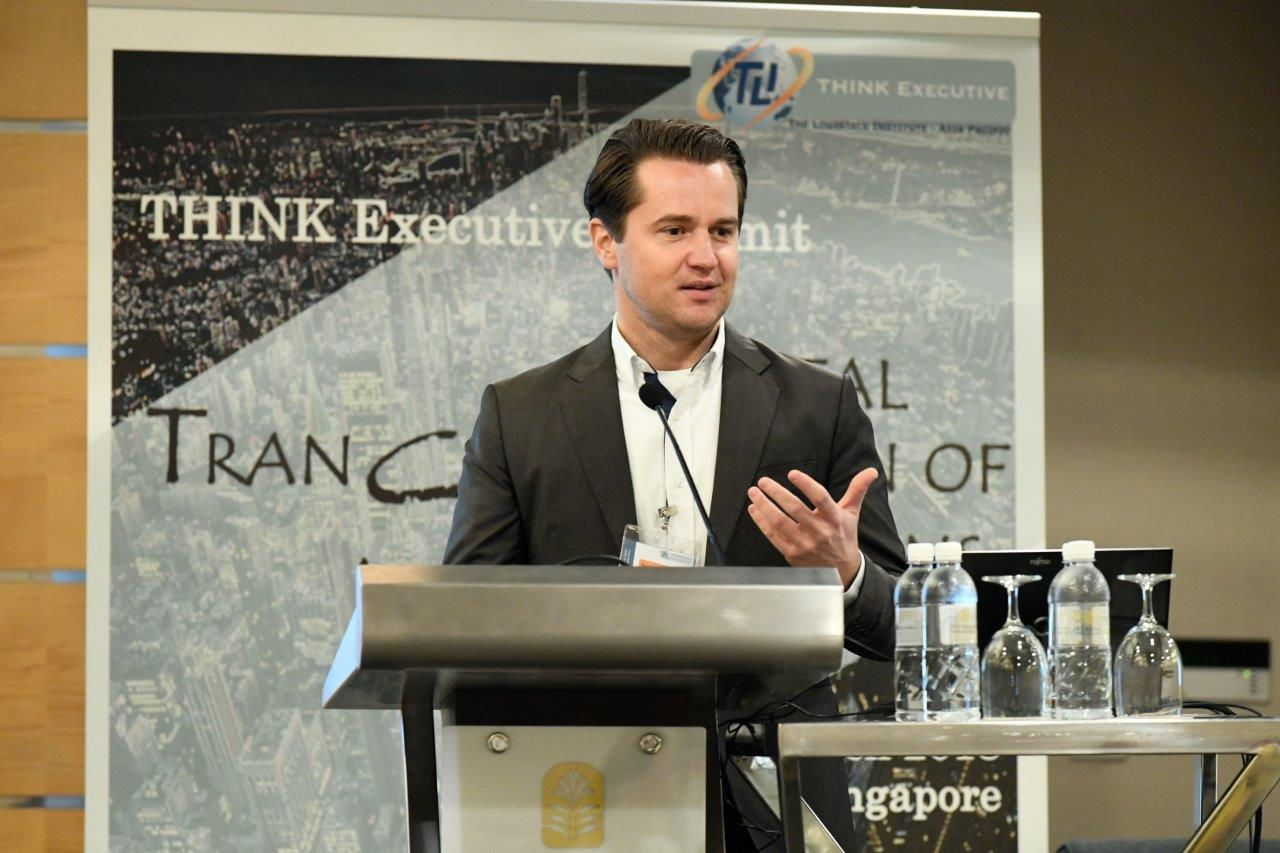 Logistikum at the 'THINK Executive Summit' in Singapore
