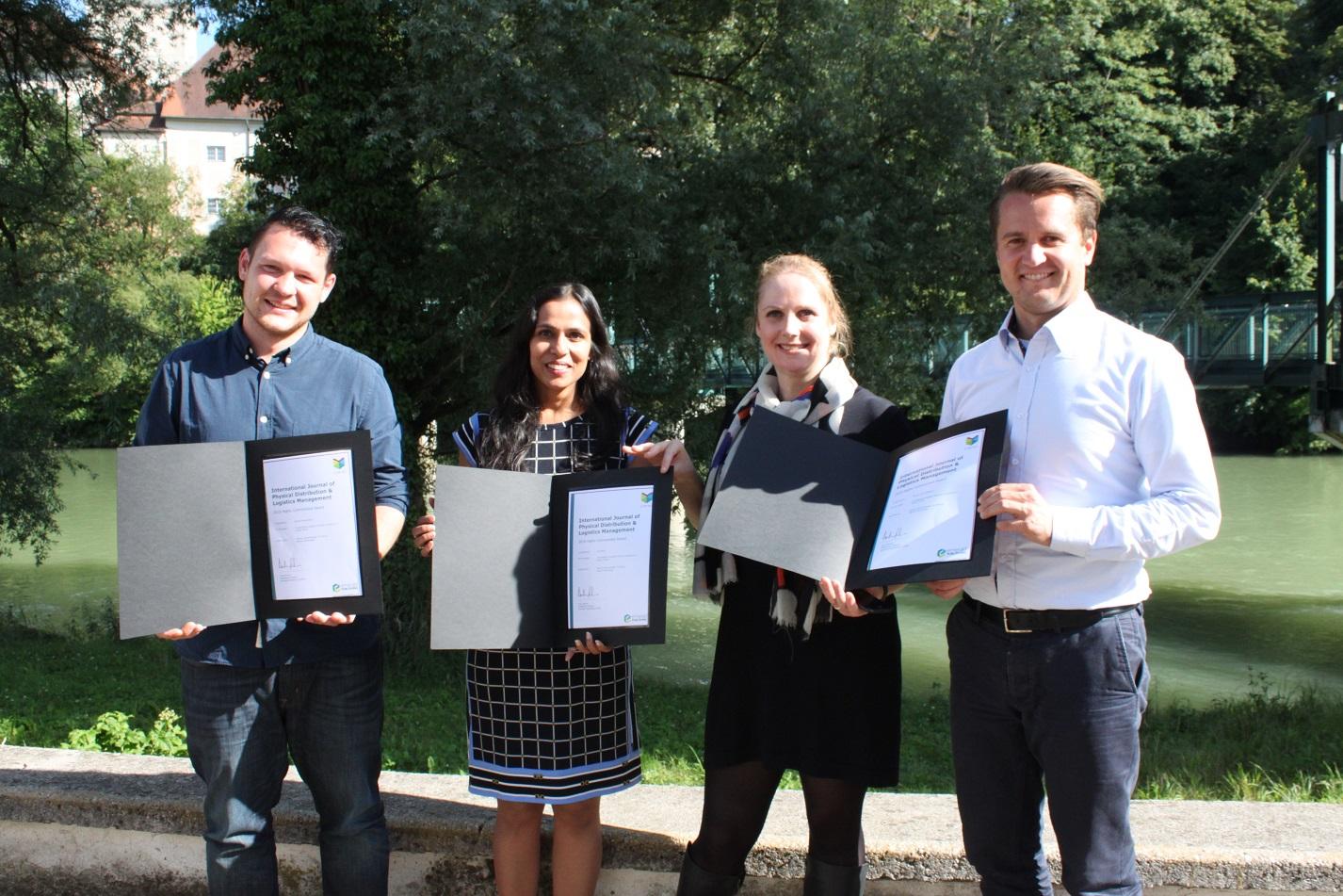"SCM Team erhält ""Highly Commended Award"""