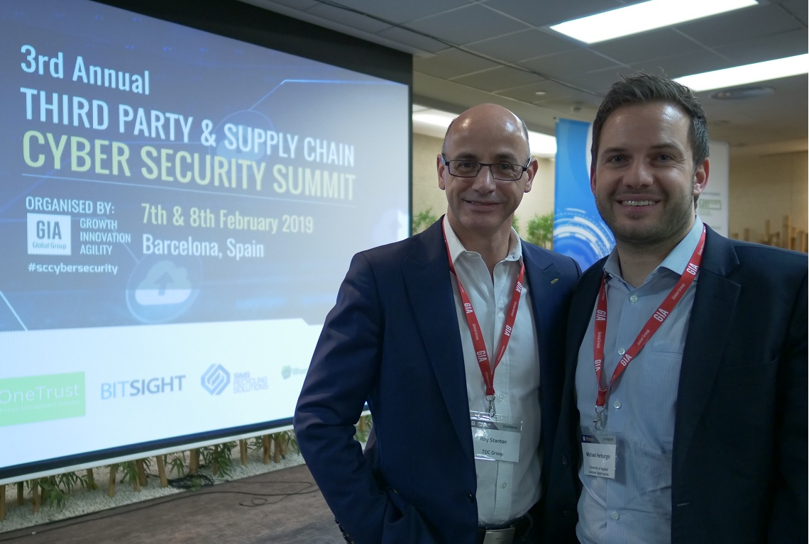 3rd Party & Supply Chain Cyber Security Summit in Barcelona